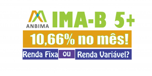 IMA-B 5+ Renda Fixa rendeu 10,66% no mÊs